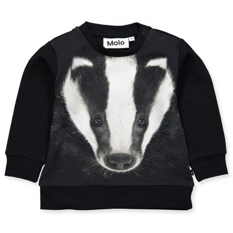 Baby Langarm Shirt Eiler Badger Face