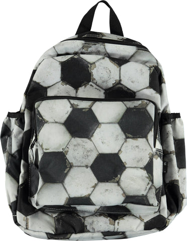 Big Backpack Rucksack Football Structure Fussball