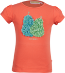 Mädchen T-Shirt Perry Coral