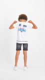 Jungen T-Shirt Hanly Real White