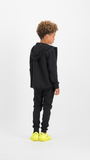 Jungen Sweatjacke Oggi Deep Black