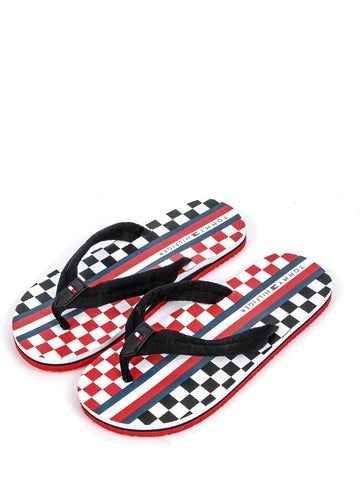 Jungen Flip Flop T3X0 Black/Chess