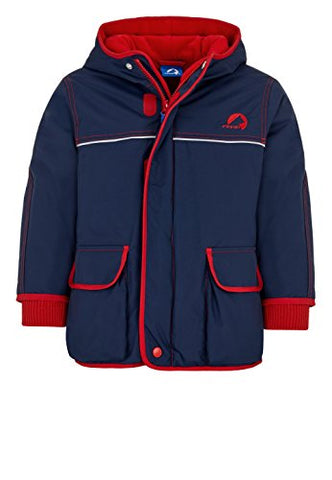 Jungen Winterjacke Talvi Navy/Red