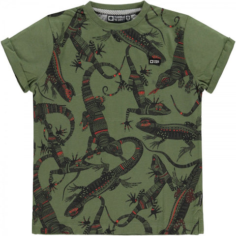 Jungen T-Shirt Wymer Vinegard Green