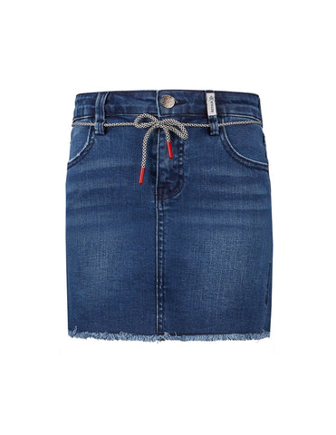 Mädchen Rock Jeansrock Diede Medium Blue Denim