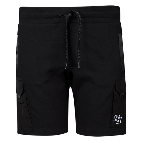Jungen Jogger Shorts Evan Black