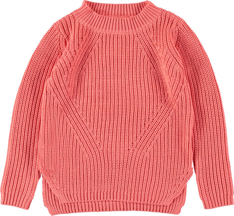 Mädchen Pullover Sweater Gillis Sporty Coral