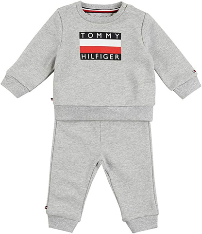 Unisex Zweiteiler Tracksuit Set KN0KN01121 Grey Heather