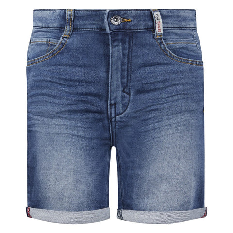 Jungen Shorts Hose Loek Medium Blue Denim