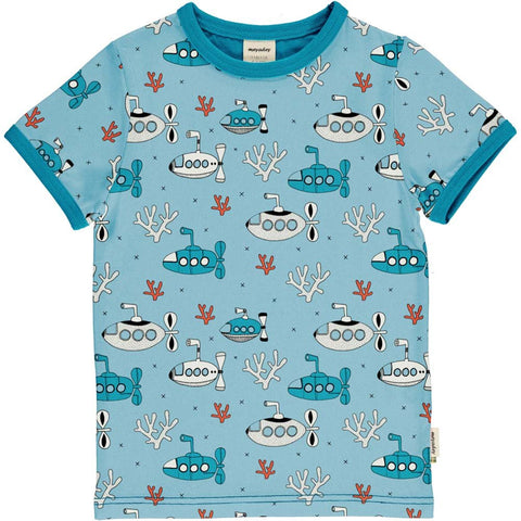 Jungen T-Shirt Top SS Submarine Waters