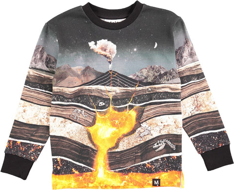 Jungen Pullover Mount Core to Cosmos