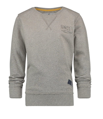 Jungen Pullover Niels Light Grey Melee