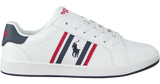 Unisex Sneaker Oaklynn White/Navy/Red