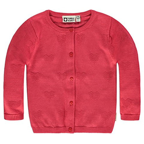 Mädchen Baby Sweatjacke Jacke Pansy Carmine Red