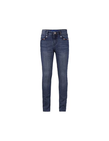Mädchen Jeans Suus Medium Blue Denim