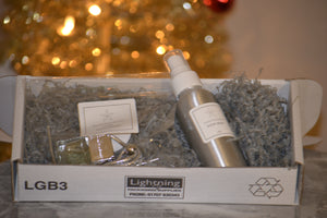 Silver Car Diffuser & Room Spray Gift Set