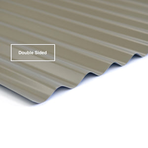 Double Sided COLORBOND® Corrugated Iron .42 BMT