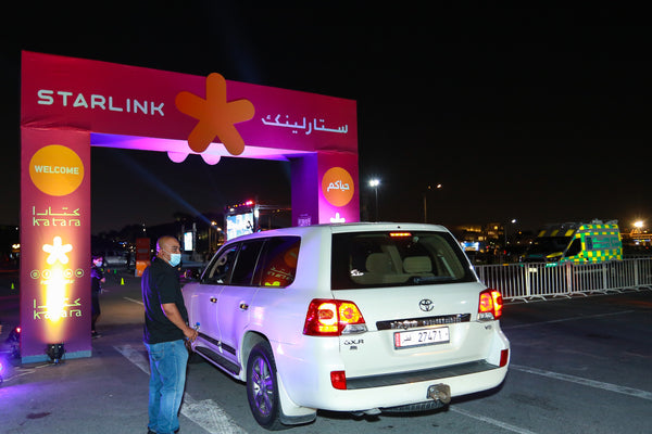 Starlink hosts iPhone event at Katara