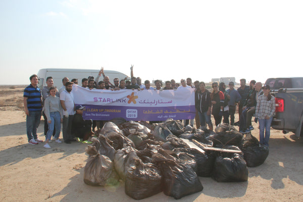 Starlink Beach Clean-Up!