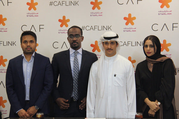 Starlink Qatar enters into partnership with CAF Café