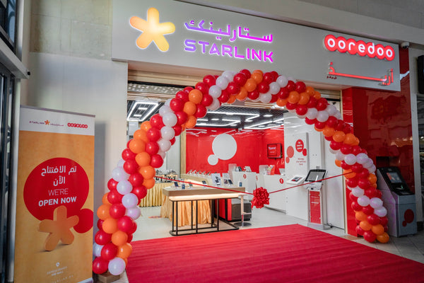 New Ooredoo Starlink Express Shop Opens!