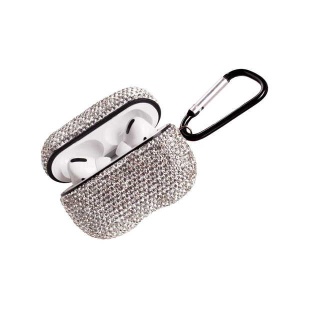 2020 Newest Luxurious Rhinestone AirPods pro Case with Keychain