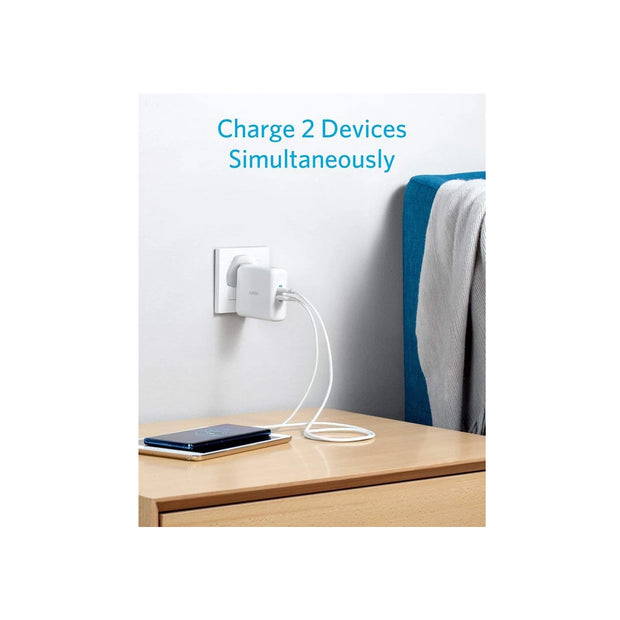 Anker PowerCore III Fusion 5K 2-in-1 Powerbank and USB-C Portable Wall Charger