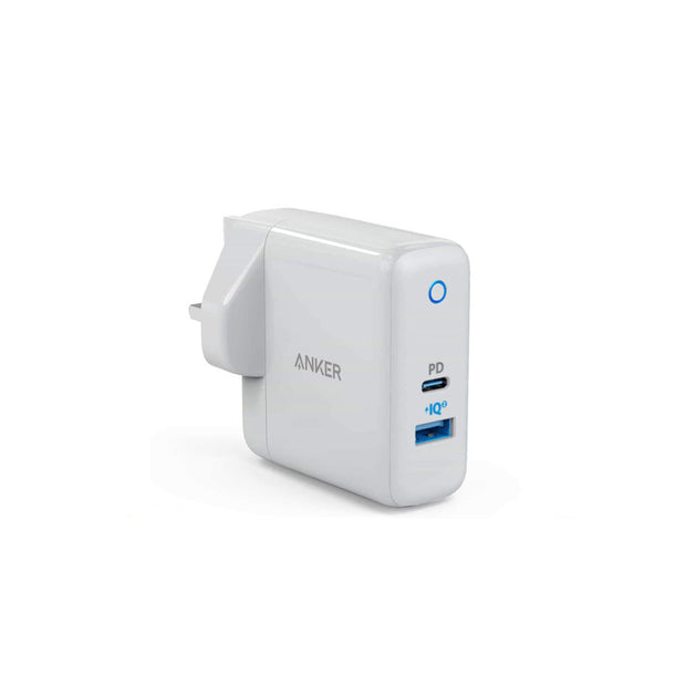 Anker PowerPort II PD with 1PD and 1 PIQ2.0 White - A2321K21