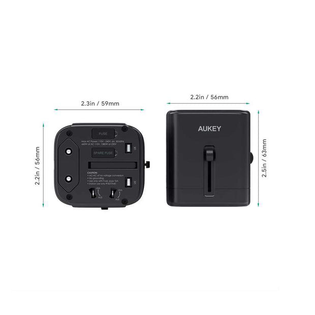 AUKEY Adapter Universal With USB-C and USB-A Ports - PA-TA01