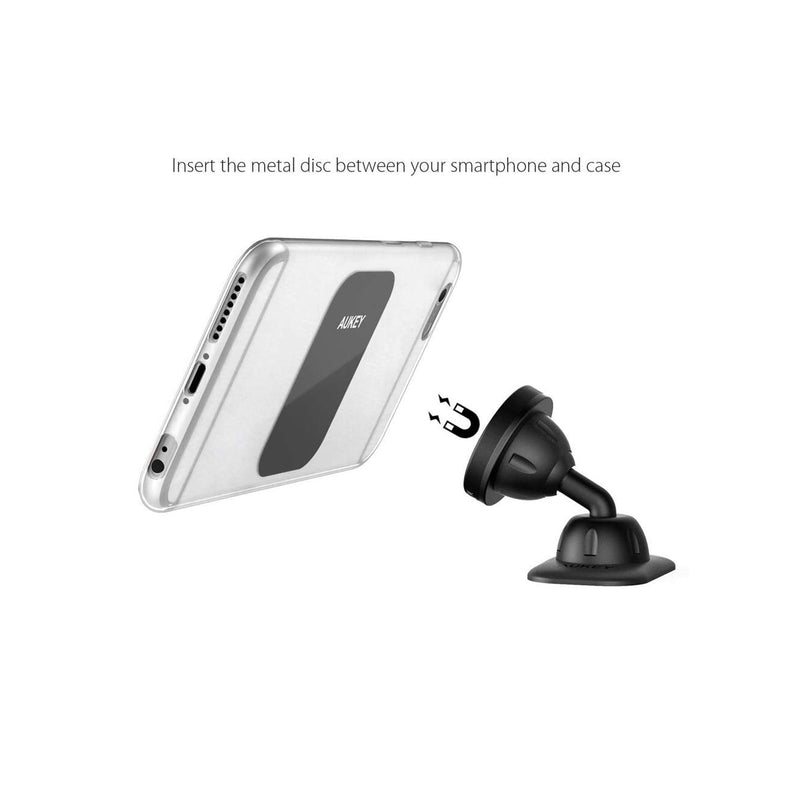 AUKEY Universal Magnetic Dashboard Car Phone Mount Holder HD-C13 - Black