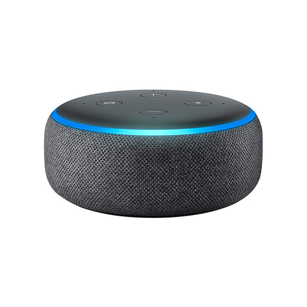 Amazon Echodot (3rd Gen) Speaker-Home Automation-Amazon-Heather Gray-Starlink Qatar