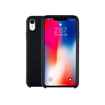 Apple Silicone Case iPhone XR-Accessories-Apple-MXHN2FE/A iPhone XR Silicon Case Black-Starlink Qatar