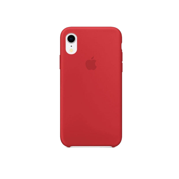 Apple Silicone Case iPhone XR-Accessories-Apple-MDEG2FE/A iPhone XR Silicon Case Red-Starlink Qatar