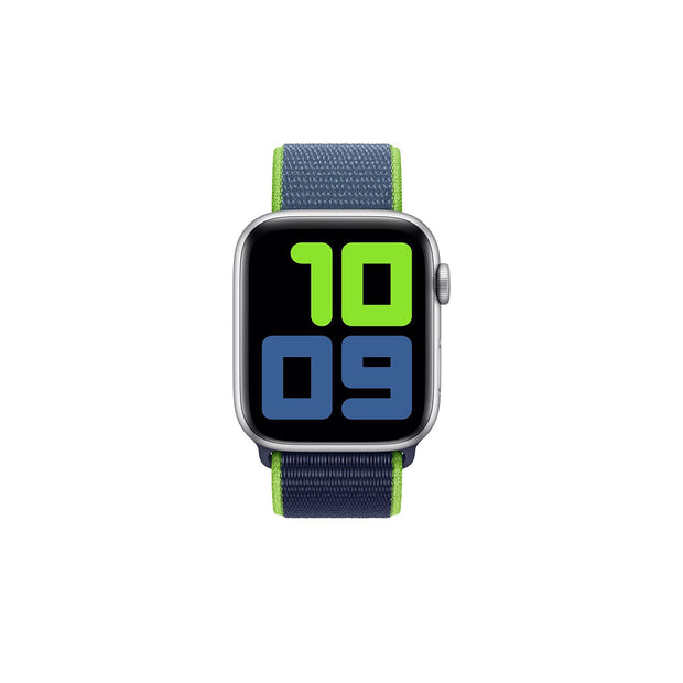 Apple Watch 40mm Sport Loop Strap - Neon Lime (MXMP2ZM/A)