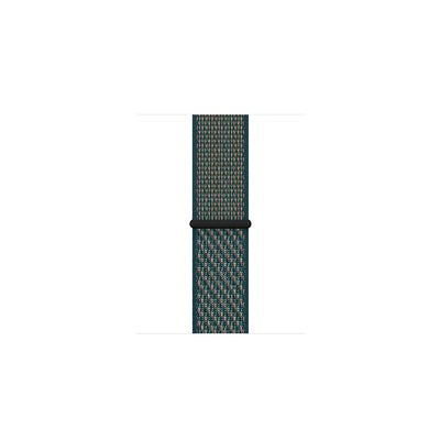 Apple Watch 40/44mm Hyper Crimson/Neptune Green Sport Loop Strap  ( MXN22ZM/A / MXN62ZM/A )