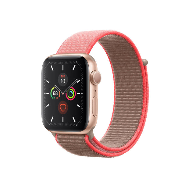 Apple Watch Band 44mm Sport Loop - Neon Pink (MXMU2ZM/A)