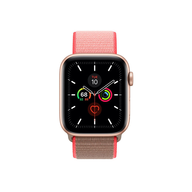 Apple Watch 44mm Sport Loop Strap - Neon Pink (MXMU2ZM/A)