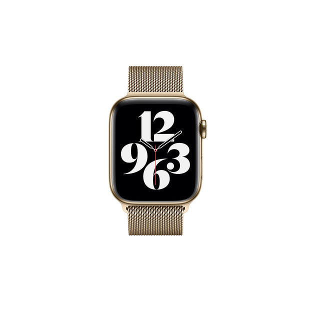 Apple Watch 44mm Gold Milanese Loop Strap (MTU72ZM/A)