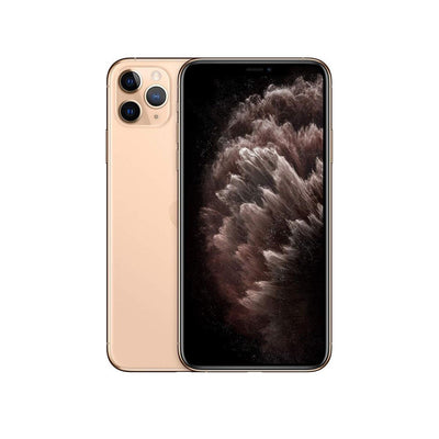 Apple iPhone 11 Pro - with Screen protector & cover for 256 GB only-Device-Apple-Gold-64 GB-Starlink Qatar