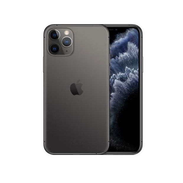 Apple iPhone 11 Pro - with Screen protector & cover for 256 GB only-Device-Apple-Space Grey-64 GB-Starlink Qatar