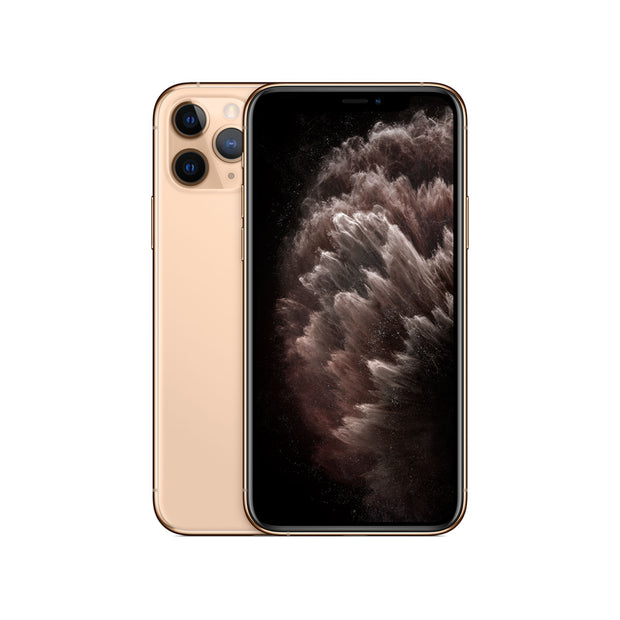 Apple iPhone 11 Pro Max - with Screen protector & cover for 256 GB only-Device-Apple-Gold-512 GB-Starlink Qatar
