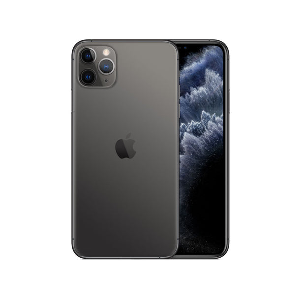 Apple iPhone 11 Pro Max - with Screen protector & cover for 256 GB only-Device-Apple-Space Grey-512 GB-Starlink Qatar