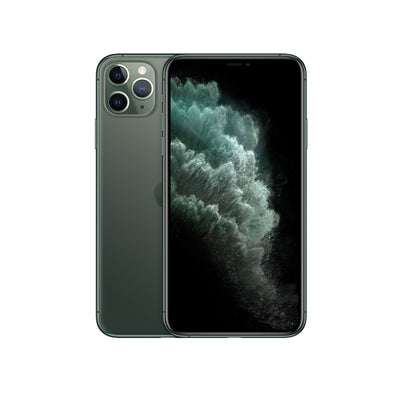Apple iPhone 11 Pro Max - with Screen protector & cover for 256 GB only-Device-Apple-Midnight Green-512 GB-Starlink Qatar