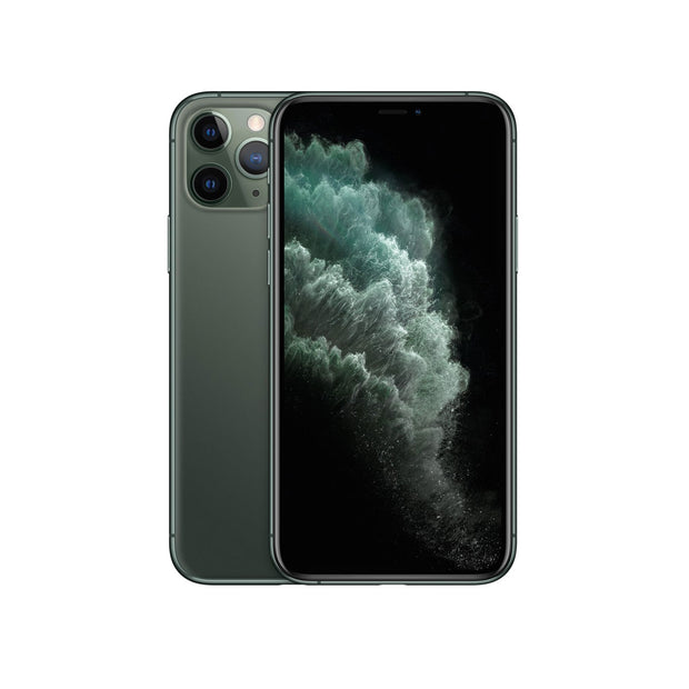 Apple iPhone 11 Pro - with Screen protector & cover for 256 GB only-Device-Apple-Midnight Green-64 GB-Starlink Qatar