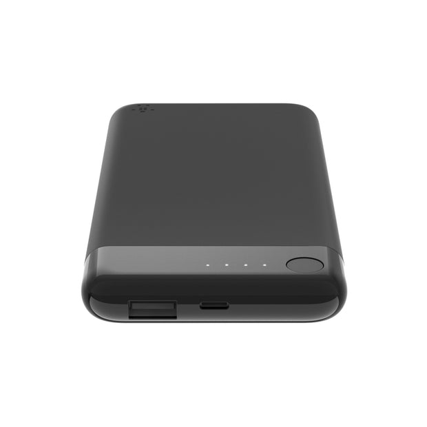 Belkin Power Bank 5000mAh with Lightning Connector + Lightning Cable Black - F7U064bt