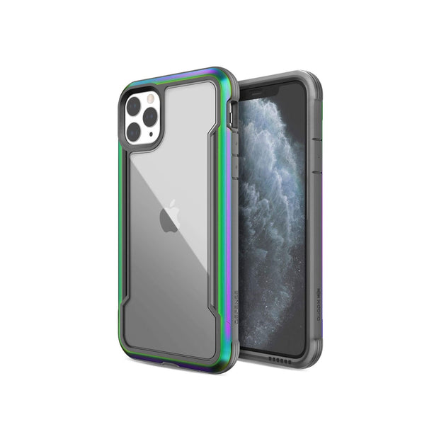 Defense Shield Covers for iPhone 11 Series-Accessories-Defense-iPhone 11 Pro Max-Irisdescent-Starlink Qatar
