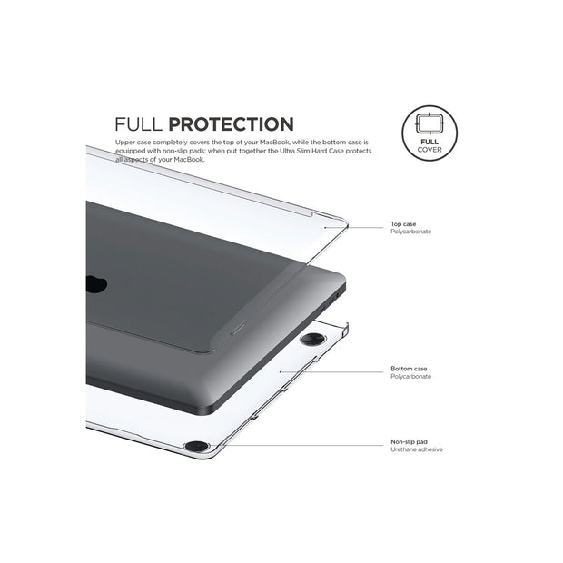 "Elago Ultra Slim Hard Case - Macbook Pro 16"" with/without Touch Bar [Clear]"