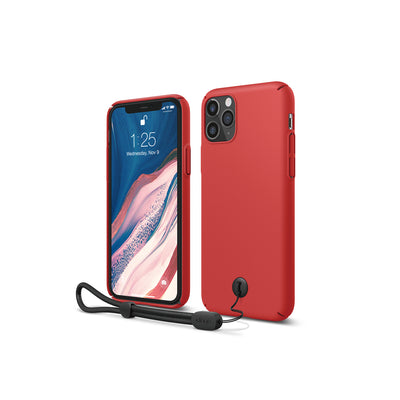 Elago iPhone 11 Pro Slim Fit Strap Case - Red