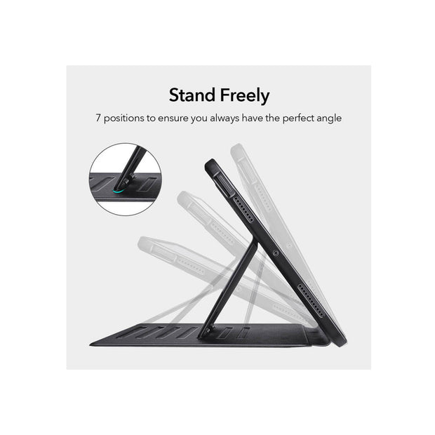 ESR iPad Air 4 (2020) Sentry Protective Case with Stand - Black