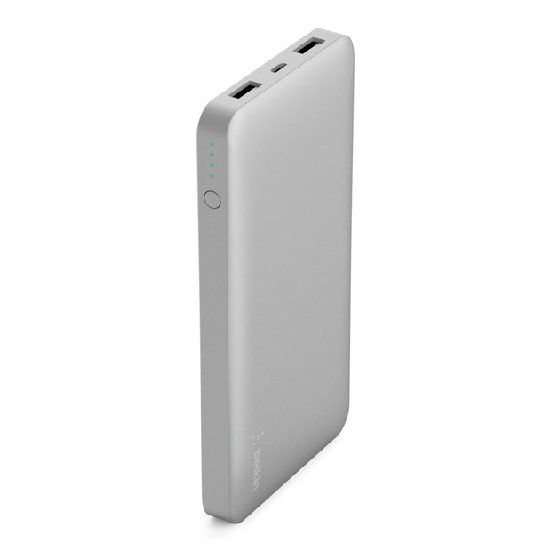 Belkin Pocket Power 10K Power Bank-Accessories-Belkin-Silver-Starlink Qatar